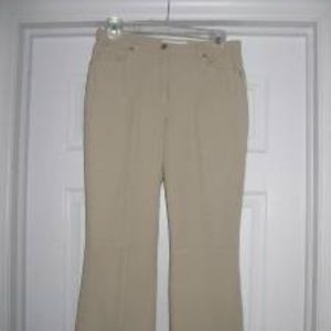ESCADA Sz 38 US 8 Beige Tan Pants